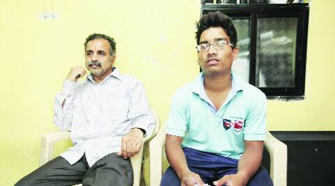 Nikhil Tikone (right) was one of the first victims of the clashes
