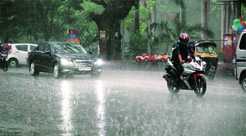 Monsoon has not picked up momentum in the city. (File )
