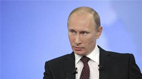 Vladimir Putin. (Source; Reuters)