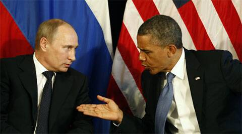 Russian President Vladimir Putin and US President Barack Obama. (source: Reuters/file)