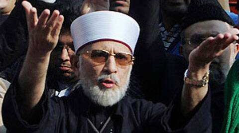 Qadri, a cleric who has dual nationality, refused to come out of the plane in Lahore, demanding that the aircraft should be taken to its original destination, Islamabad. Source: PTI