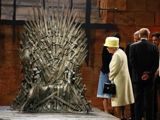The throne Queen Elizabeth II declined