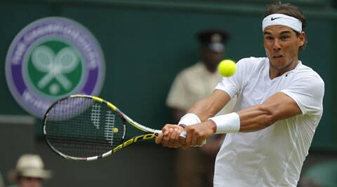 The top-ranked Nadal, rallied for a 4-6, 7-6 (6), 6-4, 6-4 victory against Rosol on to advance to the third round. (Source: AP)