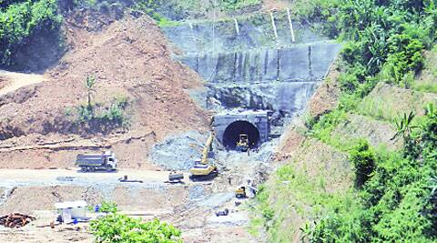 Tunnel No. 14 on Jiribam-Imphal route.