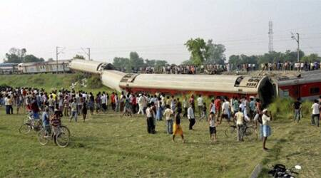 The Railways suspects subotage by Maoists as a possible cause of the accident. (Source: PTI)
