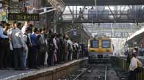 MPCC protests at CST station against rail fare hike