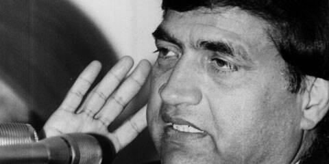 Rajesh Pilot, Union minister of state for communication. Express archive photo