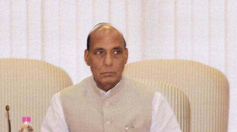Replying to the media queries at party's state headquarters, Rajnath said that he will not comment on the situation of any state. (Source: PTI)