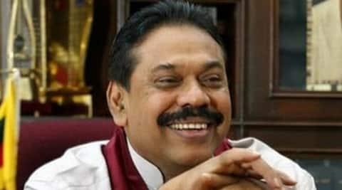 Sri Lankan President Mahinda Rajapaksa.