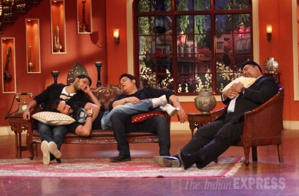 Humshakals Riteish, Saif Ali Khan, Ram Kapoor have some fun with Kapil, dadi