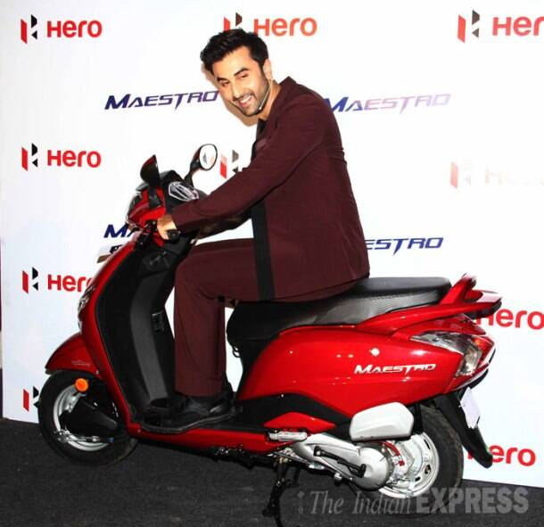 Biker boy Ranbir Kapoor, ready for a ride girls?