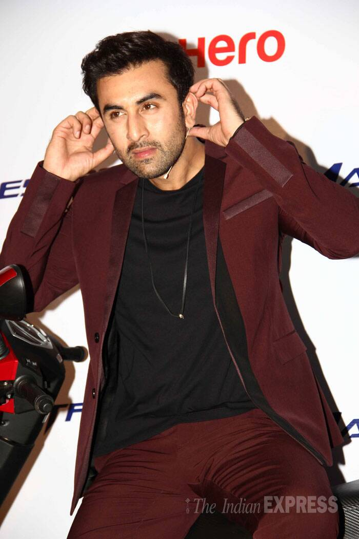 Ranbir says I am all ears! (Source: Varinder Chawla)