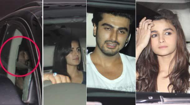 Ranbir Kapoor, Katrina Kaif, Arjun-Alia party hard with Karan Johar