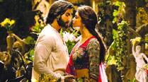 Ranveer Singh and Deepika Padukone romance amongst the verdant greenery in ...Ramleela