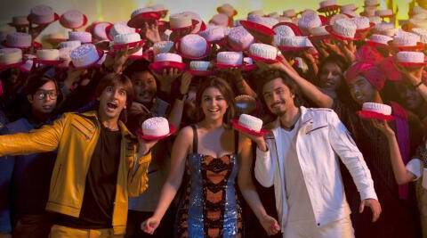 The Yash Raj Films informed that the entire crew was in Pune, Mumbai and Navi Mumbai arranging 600 cakes.