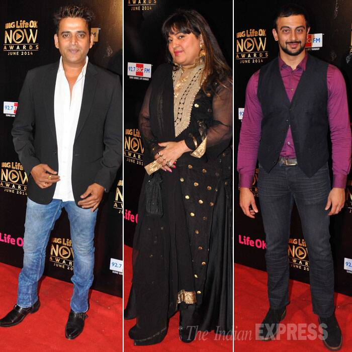 Actors Ravi Kissen and Arunoday Singh were also present along with actress Dolly Bindra. (Source: Varinder Chawla)