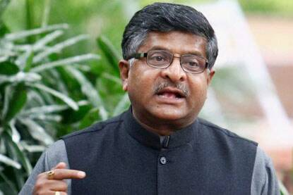 Electronic manufacturing is going to be the key area of priority, said Communications and Information Technology Minister Ravi Shankar Prasad (Photo: PTI)