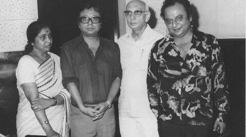 R. D. Burman made his first onscreen appearance in Mehmood's 'Bhoot Bangla'.
