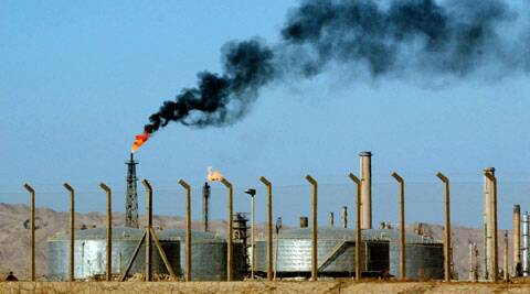 A file photo of  an oil refinery is seen in the city of Beiji. (Source: AP)