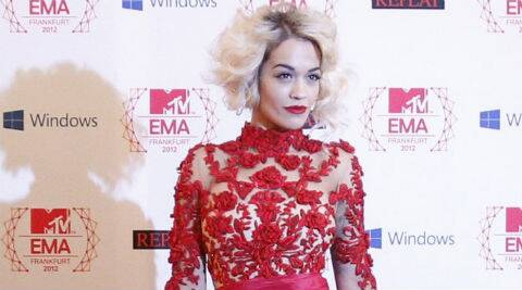 Rita Ora said her phone is the first thing she reaches for when she wakes up in the morning. (Source: Reuters)
