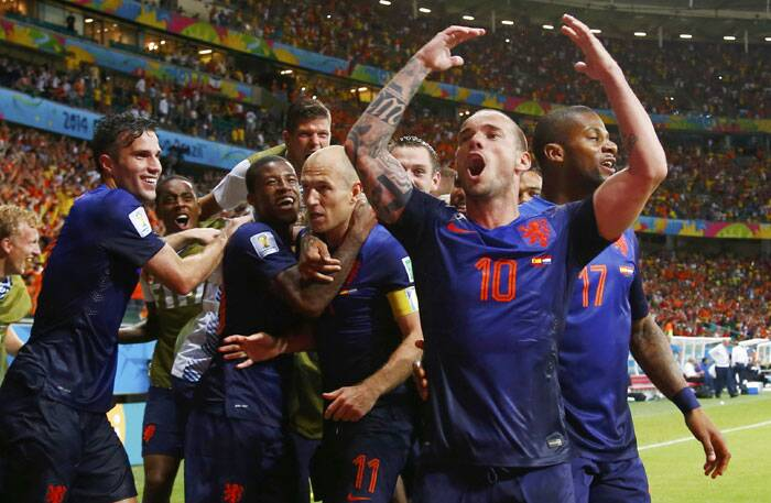 The 5-1 win could be termed as a sweet revenge for Netherlands who were defeated 0-1 by Spain in the 2010 World Cup final. The players also knew the importance of the win and celebrated in grand style. (Source: Reuters)