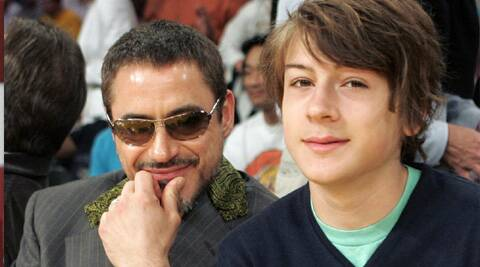 Robert Downey Jr's son has been arrested on suspicion of cocaine possession.