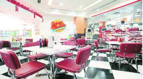 JR HoustonBurger; the interiors of Johnny Rockets. (Source: Express Photo)