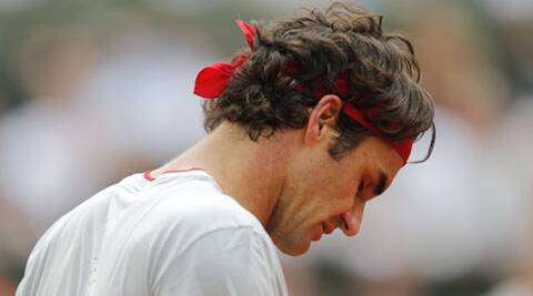 Roger Federer was a picture of gloom Sunday. The fourth seed had the match in his grasp against the unpredictable Gulbis, but frittered away the opportunity to lose 6-7(5) 7-6(3) 6-2 4-6 6-3.  (Source: Reuters)
