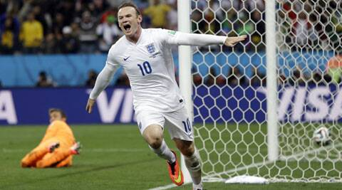 Wayne Rooney, who scored his side's only goal against Uruguay, will be a key player in England's forthcoming  group match against Costa Rica. (Source: AP)