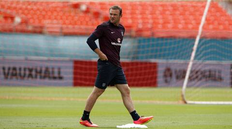 Rooney's chance to show his versatility, even if it is out on the left flank where he complained previously he can't express himself as much, with Rickie Lambert in line to lead the attack. (Source: Reuters)