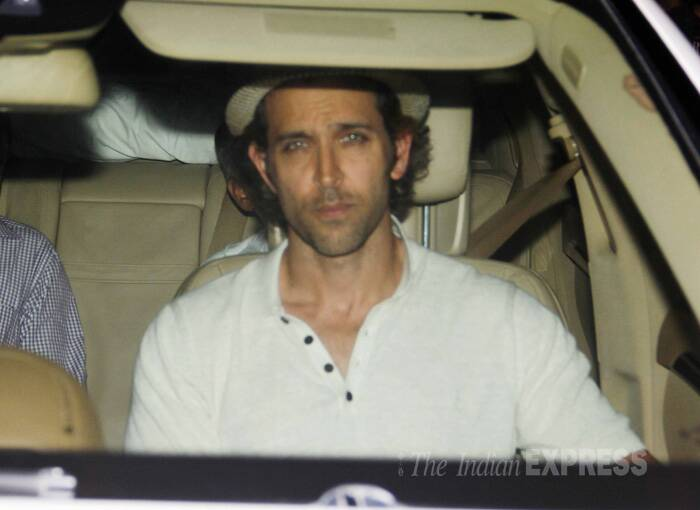 Meanwhile, Bollywood heartthrob Hrithik Roshan, who was on vacation with his sons Hrehaan and Hredhan in Paris, was spotted on the streets of Mumbai. (Source: Varinder Chawla)