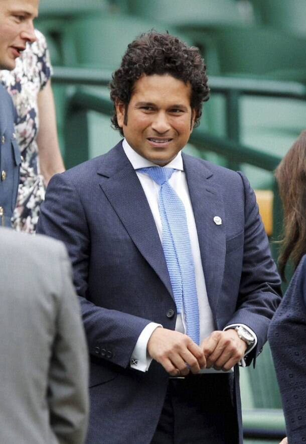 Sachin Tendulkar's Wimbledon outing with wife Anjali