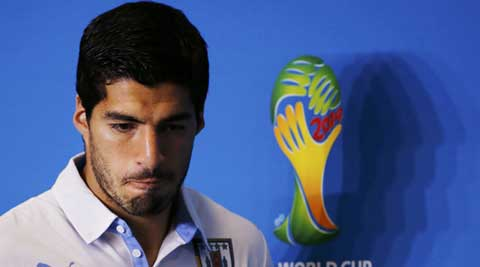 Suarez has not spoken publicly since FIFA imposed a nine-month ban on him on Thursday. (Source: Reuters)