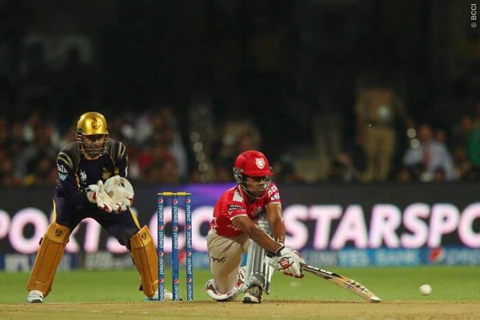Wriddhiman Saha could not have wished for a better platform to score runs and he did just that scoring the third hundred of this IPL. Saha blasted a  55-ball 115 to bring his team out of trouble after two initial wickets. (Source: BCCI/IPL)