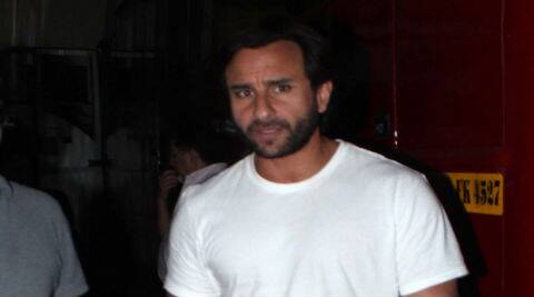 Saif Ali Khan plays an author in 'Happy Ending'.