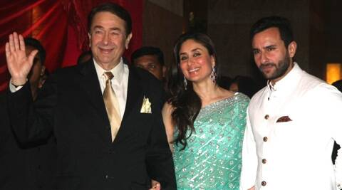 Saif Ali Khan has imitated his father-in-law Randhir Kapoor in 'Humshakals'.
