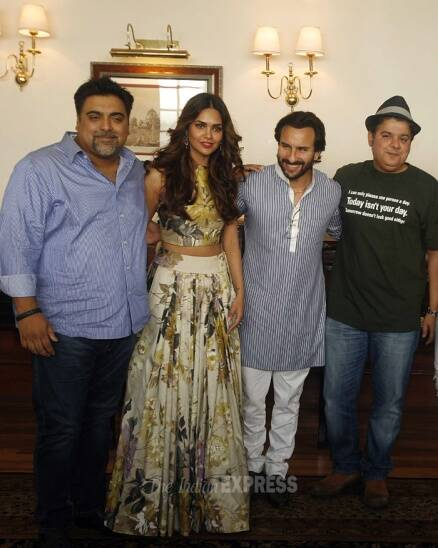 'Humshakals' Saif, Riteish, Ram take New Delhi by storm