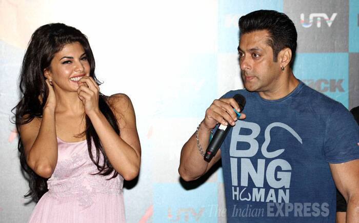 Salman and Jacqueline have also sparked romance of a budding offscreen romance. (Source: Varinder Chawla)