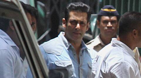 """My statement recorded by police that I saw Salman coming out from the driver's seat and running away from the spot is incorrect,"" the witness, Sachin Kadam, a security guard of NeelSagar Hotel, told Judge D W Deshpande. (Source: Express Photo)"