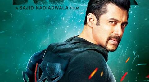 Kick's first poster features Salman Khan in a goatee, wearing a hooded sweatshirt and a superhero mask.