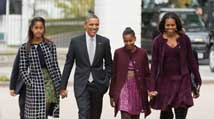 Obamas give rare insight into pre-White House days, speak about family life