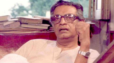 Satyajit Ray almost lost an eye while shooting for a film.