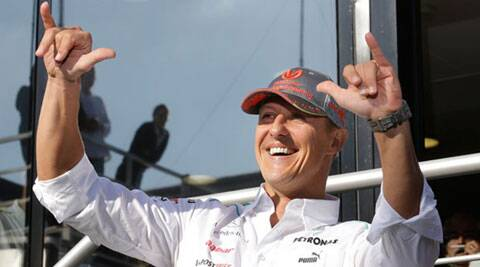 Michael Schumacher sustained severe head injuries in a ski accident in late 2013. (Source: AP)