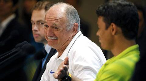 Scolari said that Neymar is going to get there where Messi is today. (Source: Reuters)