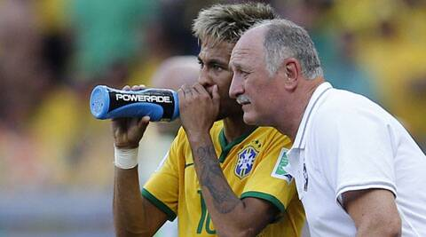 Scolari said he would try to use the emotionally draining game to inspire his squad. (Source: Reuters)