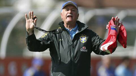 Brazil coach Luiz Felipe Scolari (Source: Reuters)