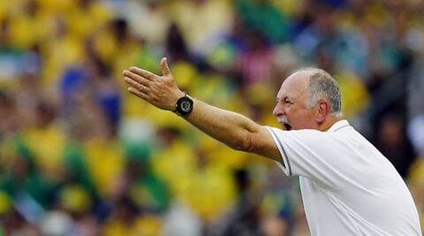 Scolari said that Mexico were up to the task and played very well to hold Brazil. (Source: AP)