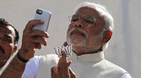 A recent Pew survey found that only 16 per cent of Indians use the internet at least occasionally or own a smartphone.