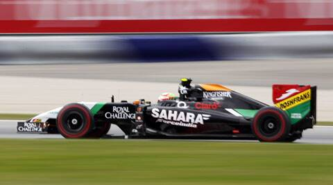 Sergipo Prez  finished  sixth after starting from 15th on the grid at the Austrian Grand Prix on Sunday. (Source: AP)
