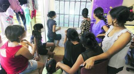 The three-bedroom flat in Kandivali had been home to the girls for three years.
